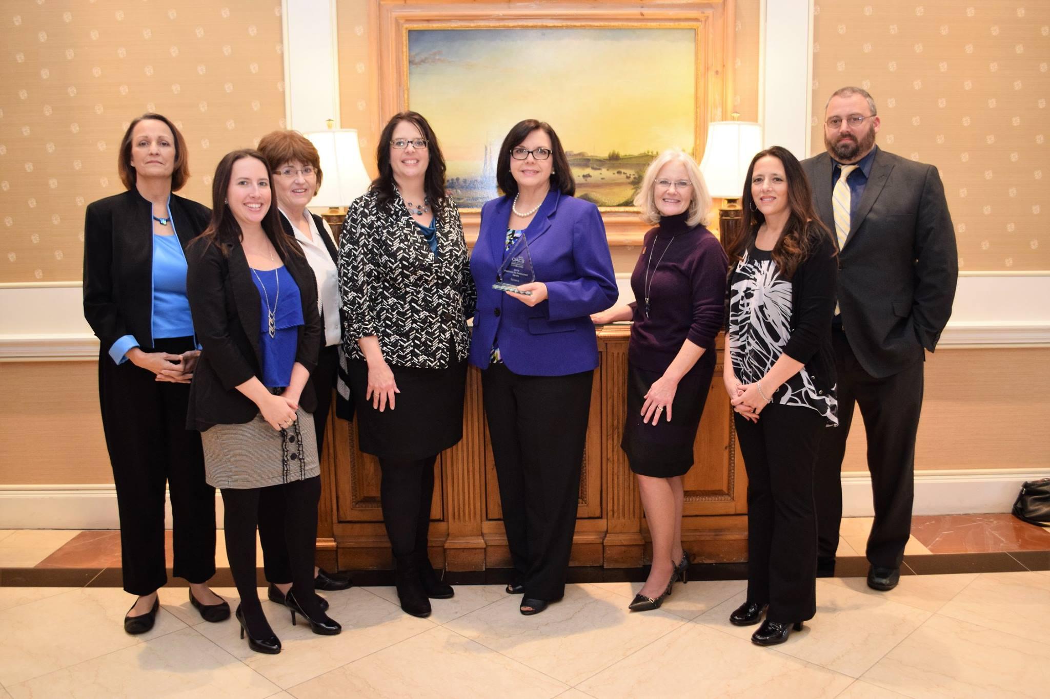 Koinonia receives partner in excellence Award