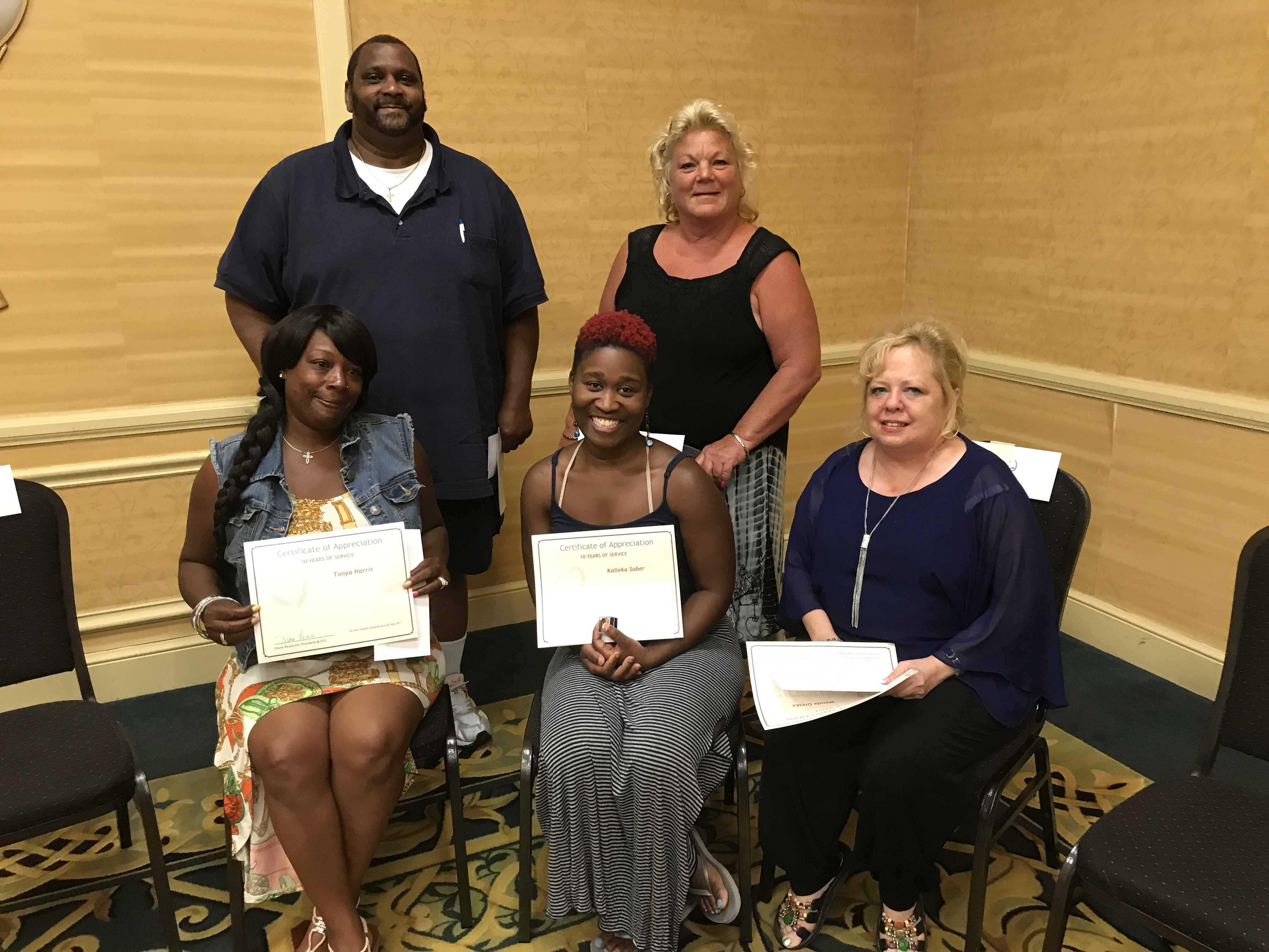 10 Year Service Award Winners