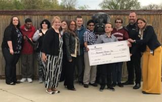 CareSource Foundation Awards $5,000 Check to Koinonia Aspire Program