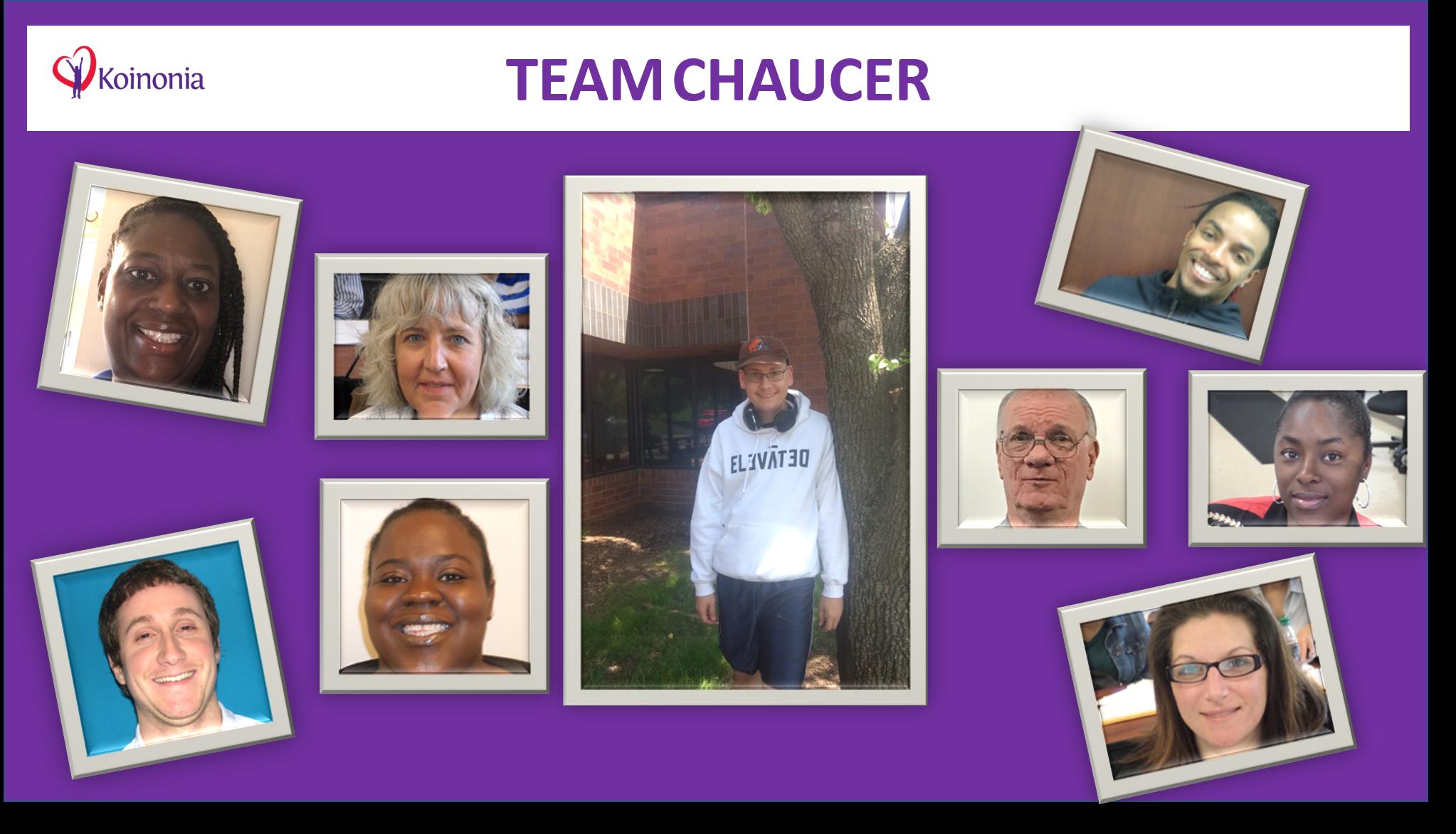 Chaucer Wins Outstanding Team Award!