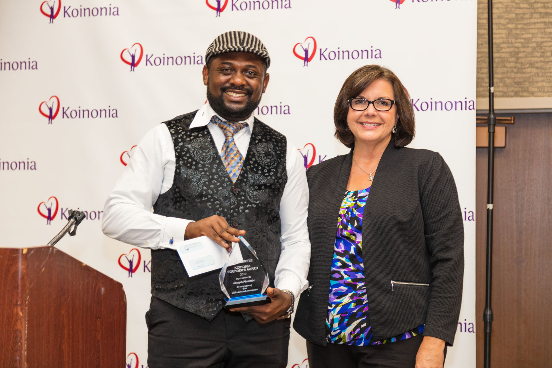 Founders Award Winner: Joseph Mwambo