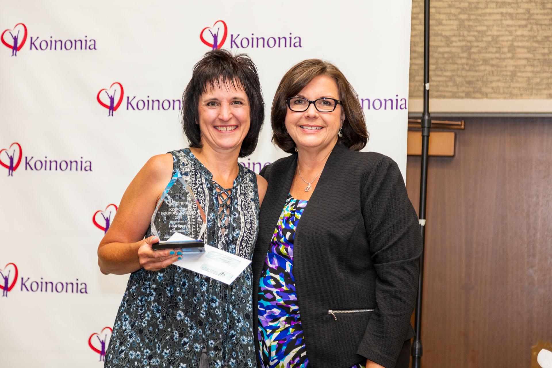 Heidi Spaeth wins 2019 Founders Award – Non-DSP Category