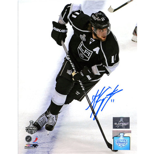 Anze Kopitar Los Angeles Kings Autographed Stanley Cup 8x10 Photo