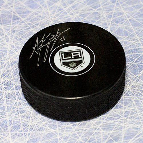 Anze Kopitar Signed Puck Los Angeles Kings Hockey Puck
