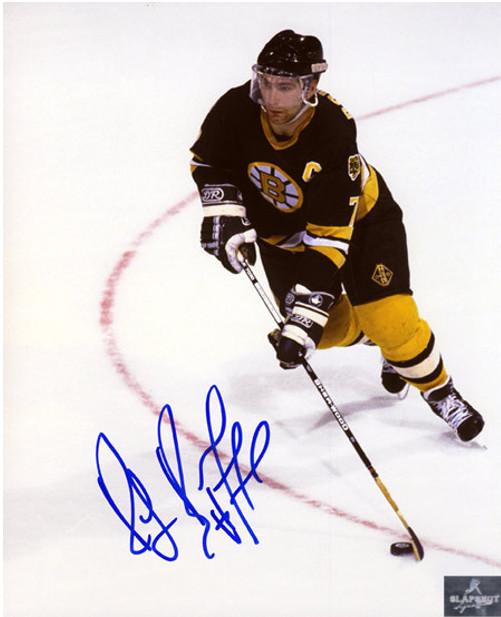 Ray Bourque Photos-Signed Boston Bruins Overhead 8x10