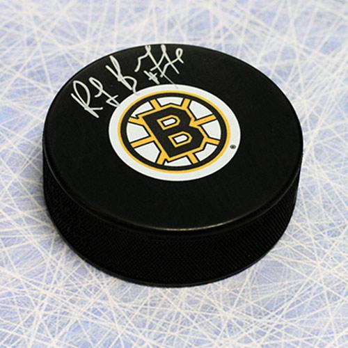 Ray Bourque Signed Hockey Puck Boston Bruins