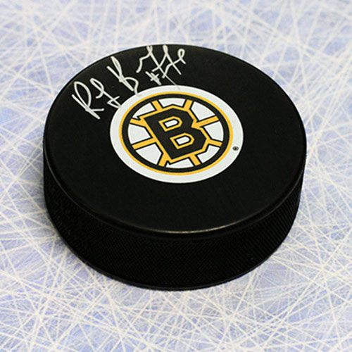 Ray Bourque Signed Hockey Puck Boston Bruins