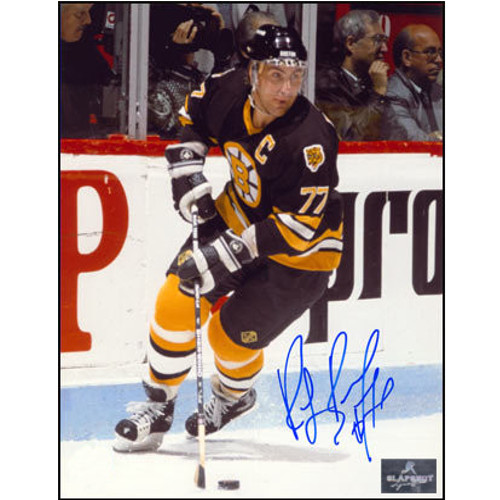 Ray Bourque Bruins Signed Vintage 8x10 Photo