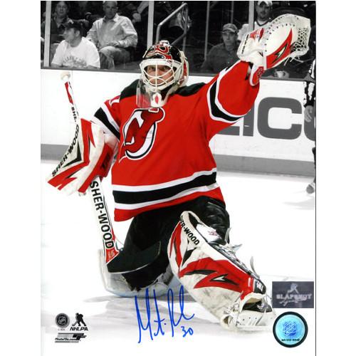 Martin Brodeur Signed Photo New Jersey Devils Goalie Spotlight 8x10