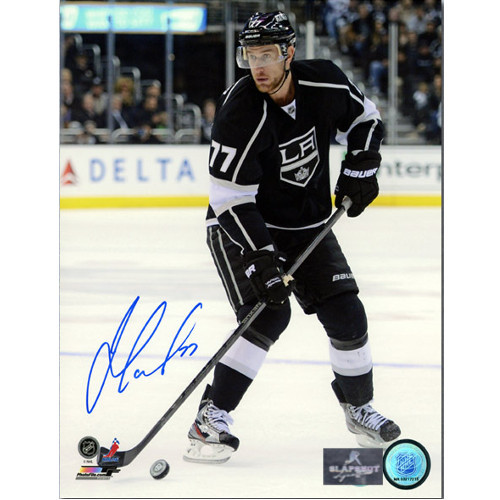 Jeff Carter Los Angeles Kings Autographed Game Action 8x10 Photo
