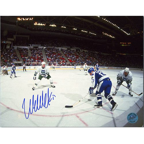 Wendel Clark Toronto Maple Leafs Signed Panoramic 8x10 Photo