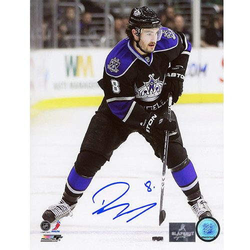 Drew Doughty Pictures-LA Kings Signed Skating 8x10 Photo
