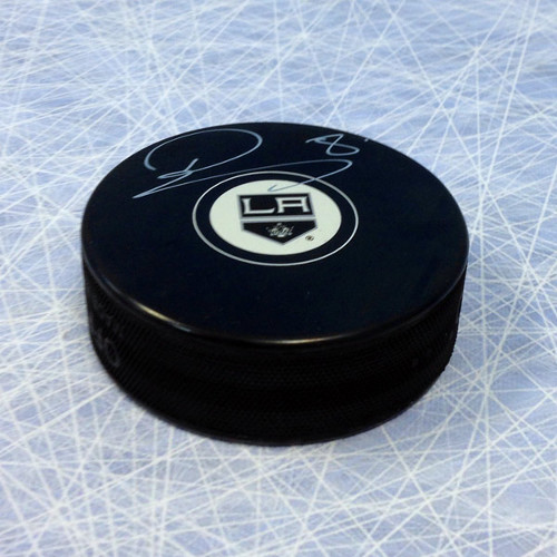 Drew Doughty Signed Puck-Los Angeles Kings