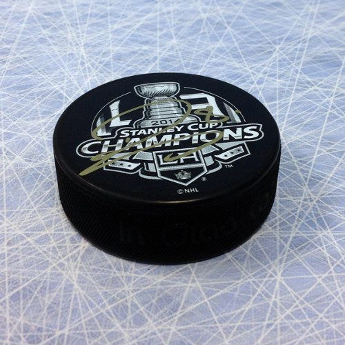 Drew Doughty 2014 Signed LA Kings Stanley Cup Puck