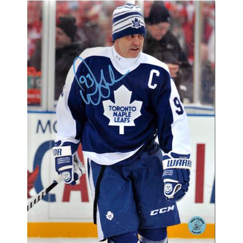 Doug Gilmour Winter Classic Alumni Photo Toronto Maple Leafs Signed 8x10