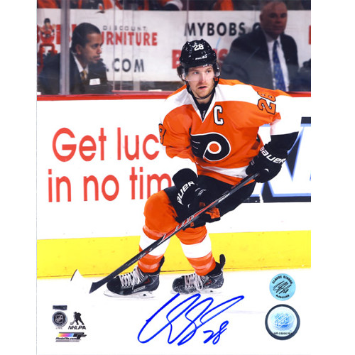 Claude Giroux Philadelphia Flyers Signed Skating 8x10 Photo