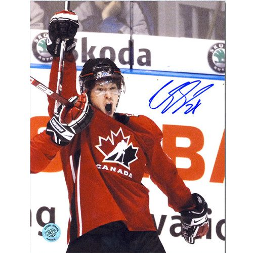 Claude Giroux Team Canada Signed 8x10 Photo