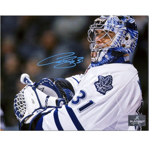 Curtis Joseph CUJO Toronto Maple Leafs Signed 8x10 Photo