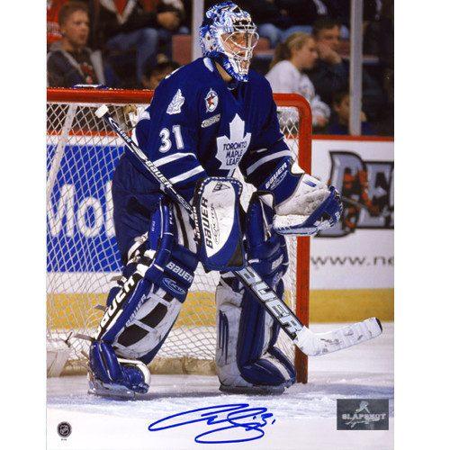 Signed Curtis Joseph Photo 8x10 Toronto Maple Leafs