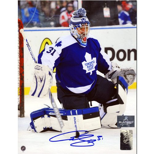 Curtis Joseph Winter Classic 2014 Signed 8x10 Photo
