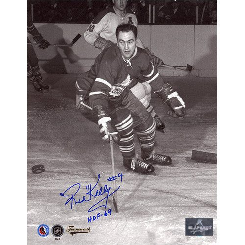 Red Kelly Toronto Maple Leafs Signed 8x10 Action Photo