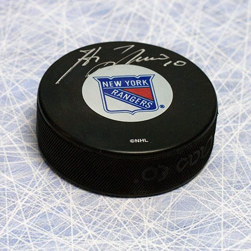 Guy Lafleur New York Rangers Signed Hockey Puck