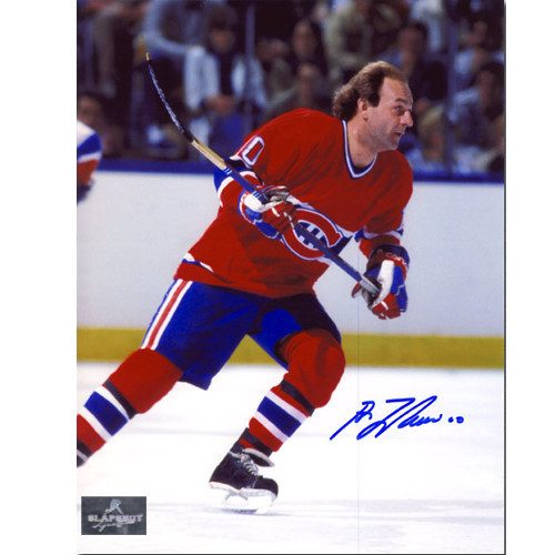 Guy Lafleur Picture Montreal Canadiens Game Action Signed 8x10 Photo