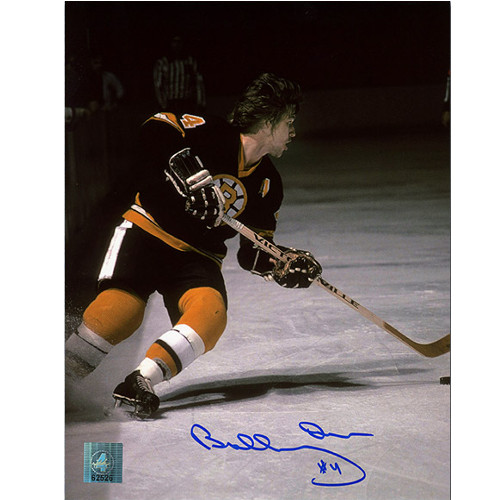 Bobby Orr Autographed Photo Boston Bruins Playmaker 8x10 GNR