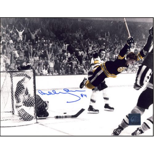 "Bobby Orr Signed Photo ""The Goal"" Spotlight 8X10 Photo"