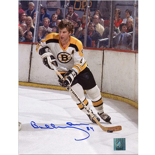Bobby Orr Signed Photo Boston Bruins Boston Garden Action 8x10 GNR