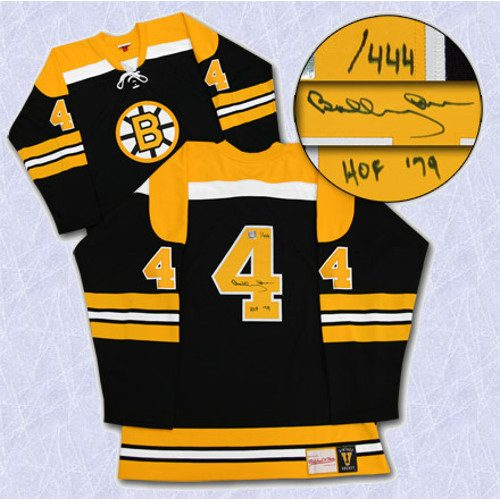 Bobby Orr Signed Jersey Boston Bruins Mitchell & Ness HOF-79 #/444