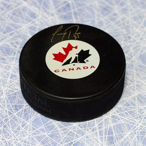 Carey Price Team Canada Signed Puck