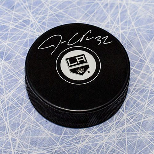 Jonathan Quick Signed Puck-LA Kings