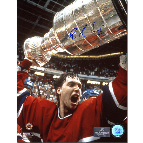 Patrick Roy 1986 Stanley Cup Montreal Signed 8x10 Photo
