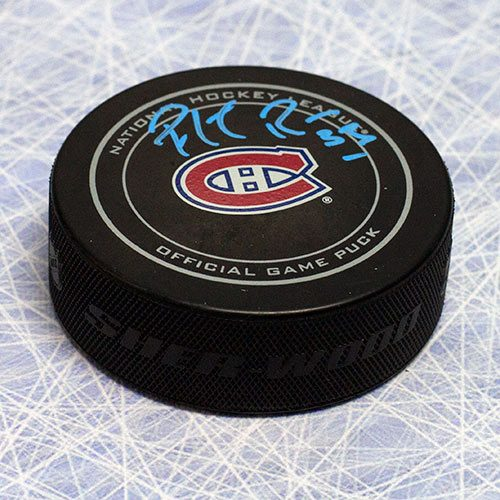 Patrick Roy Hockey Puck-Montreal Canadiens Signed Official Game Hockey Puck