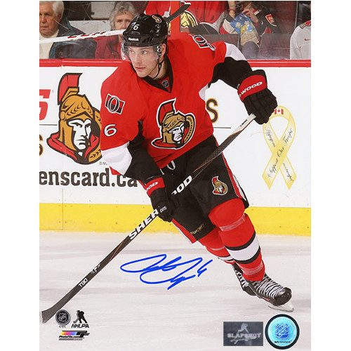 Bobby Ryan NHL Ottawa Senators Signed 8x10 Action Photo