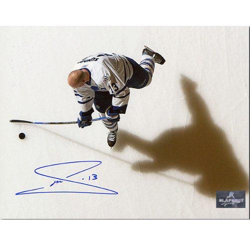Mats Sundin Highlights Toronto Maple Leafs Signed Overhead Photo