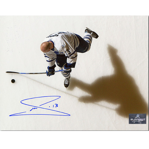 Mats Sundin Highlights Toronto Maple Leafs Signed Overhead Photo