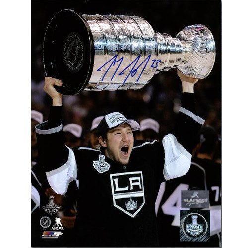Tyler Toffoli Stanley Cup Signed LA Kings 8x10 Photo