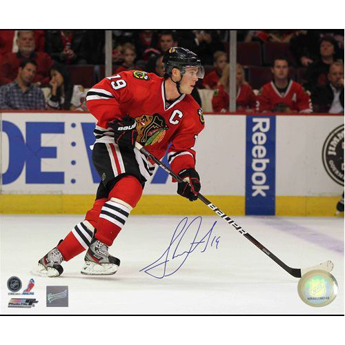 Jonathan Toews Signed Photo Chicago Blackhawks 8x10 Photo