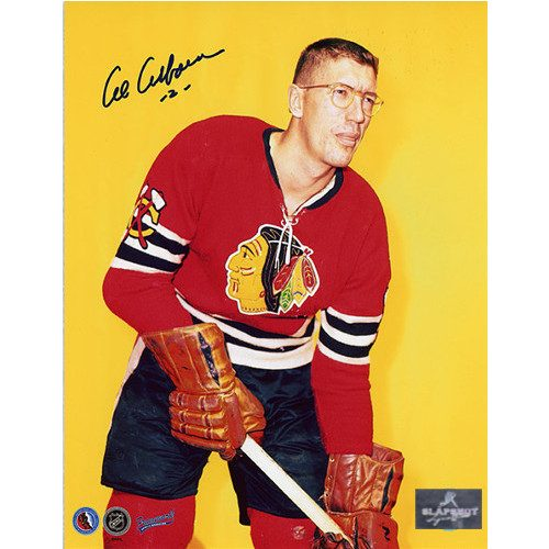 Al Arbour Chicago Blackhawks Signed 8x10 Photo