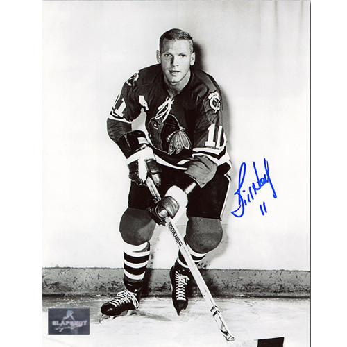 Bill Hay Chicago Blackhawks Signed 8x10 Photo