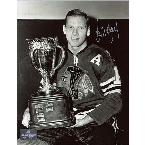 Bill Hay Chicago Rookie of the Year Signed 8x10 Photo