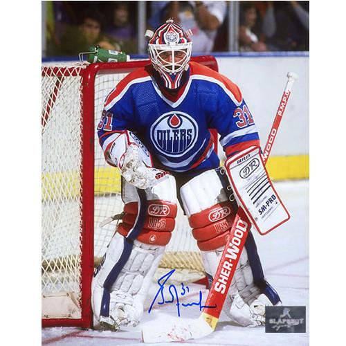 Grant Fuhr Goalie Edmonton Oilers Autographed 8x10 Photo