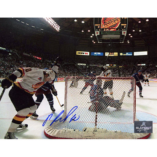 Pavel Bure Vancouver Canucks Autographed 1994 Cup Final Goal 8x10 Photo