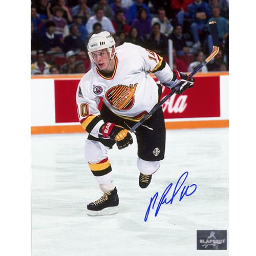 Pavel Bure Vancouver Canucks Autographed Action 8x10 Photo