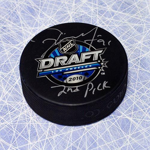 Tyler Seguin Draft Day 2010 Signed Puck