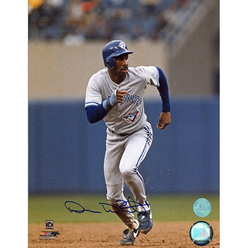 Devon White Autograph Toronto Blue Jays Signed 8x10 Photo