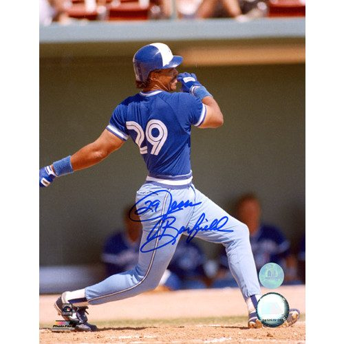 Jesse Barfield Toronto Blue Jays Signed 8x10 Photo