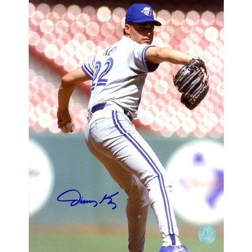 Jimmy Key Toronto Blue Jays Signed 8x10 Photo